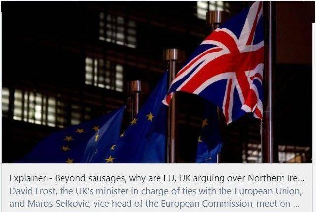 """英欧开始了""""香肠战争""""?"""