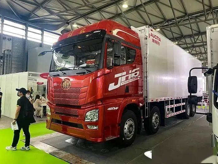 冷藏车排行_8*4冷藏车市场份额高达34%这款车亮相亚洲冷链展