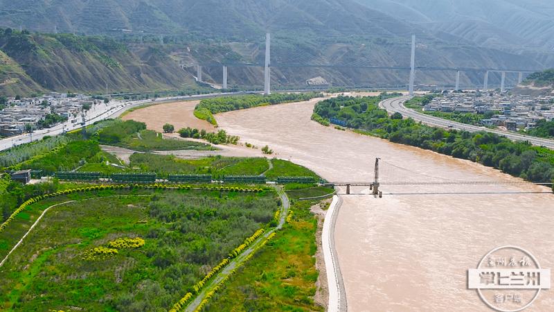 """【2021生态环保行】这里是兰州城市生活饮用水""""源头"""""""