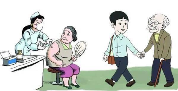 【老年健康宣传周】老年人新冠病毒疫苗接种的注意事项-家庭网