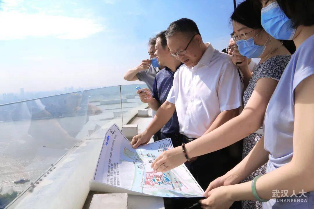 市人大常委会专题调研龟北片国际文化交往中心规划建设情况
