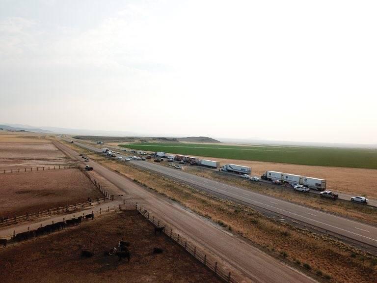 美国犹他州发生22车连环相撞 至少8人死亡10人送医