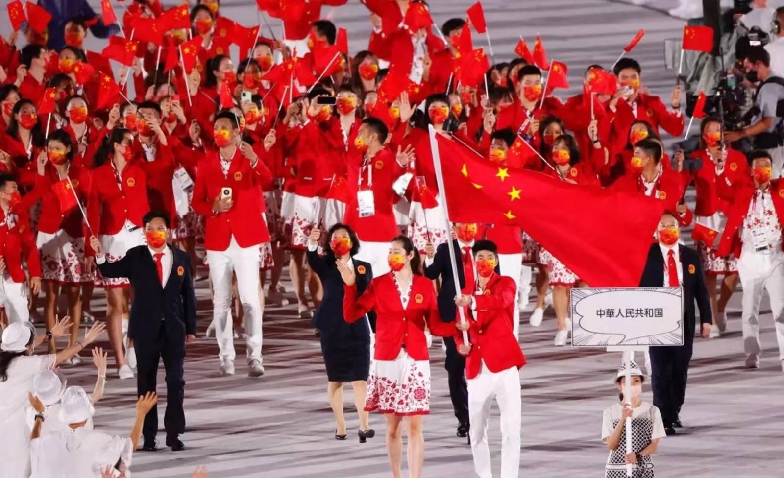 欢迎回家!东京奥运会中国圆满收官 38金32银18铜位列奖牌榜次席_优博娱乐登录