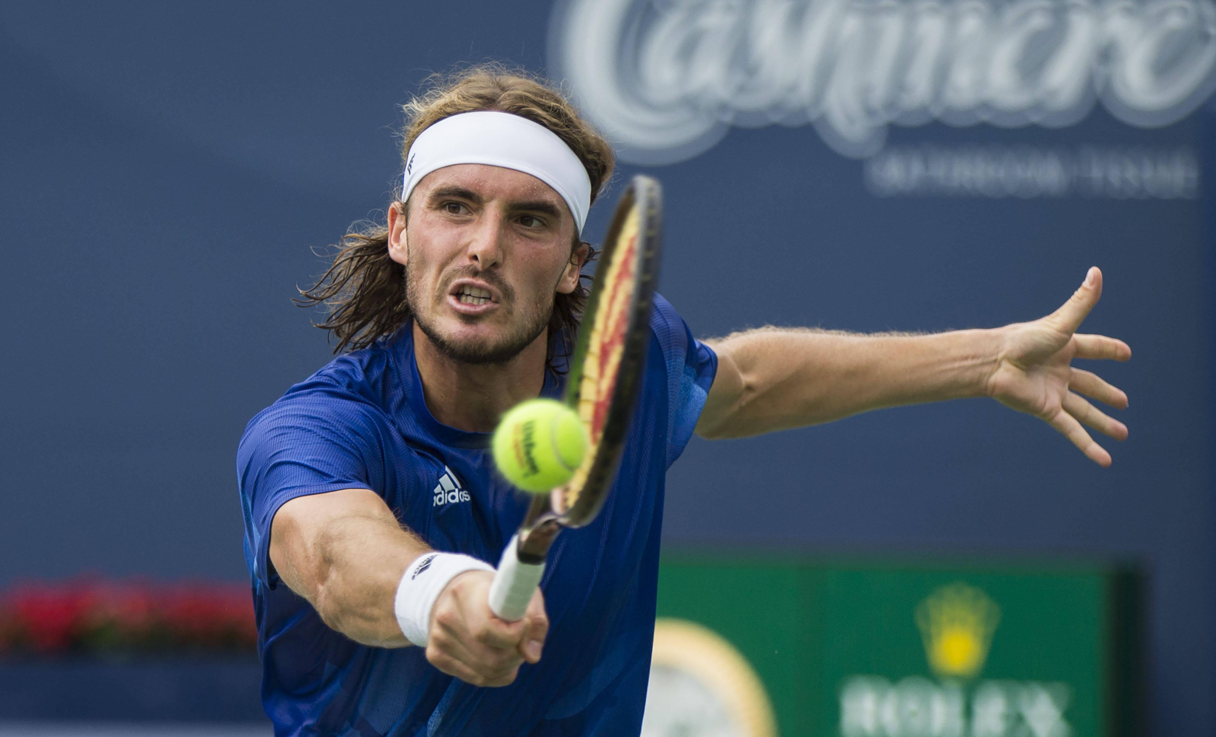 网球——加拿大国家银行公开赛:齐齐帕斯晋级四强