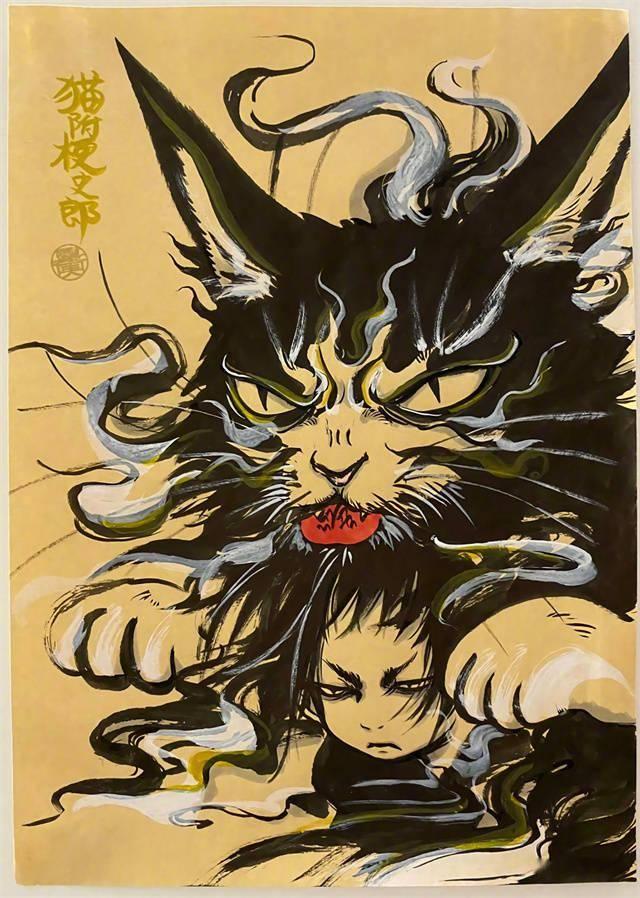 「鬼灯的冷彻」漫画作者江口夏实新绘公开插图