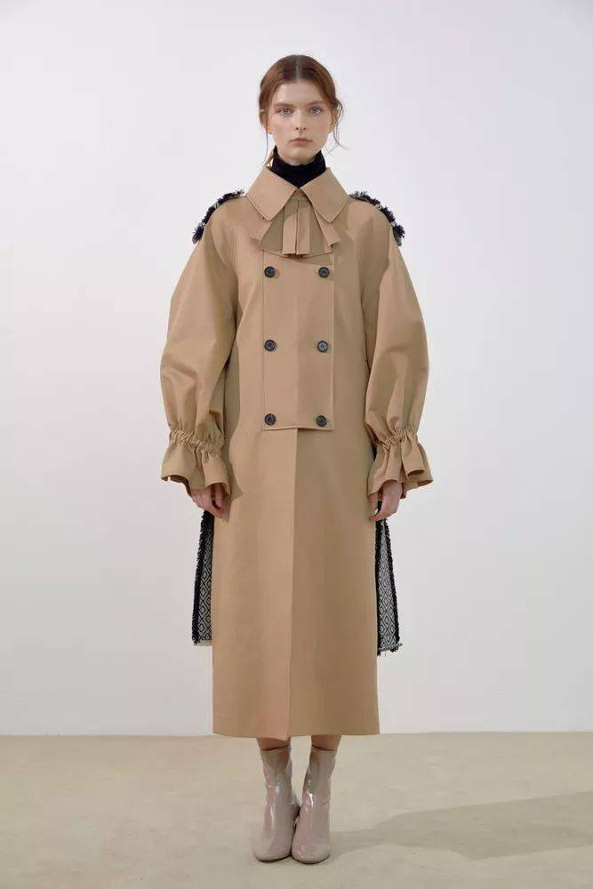 大衣和风衣_风衣大衣手绘款式图