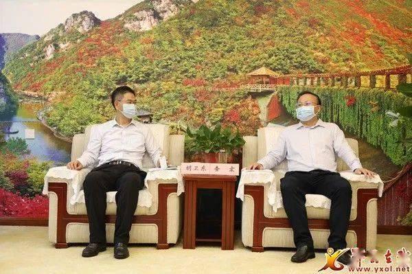 东方电气董事长_查宏会见东方电气投资管理有限公司董事长胡卫东
