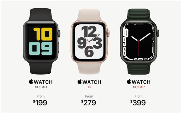 Apple Watch 7系列苹果智能手表发布:7年来首次大改的照片 - 6