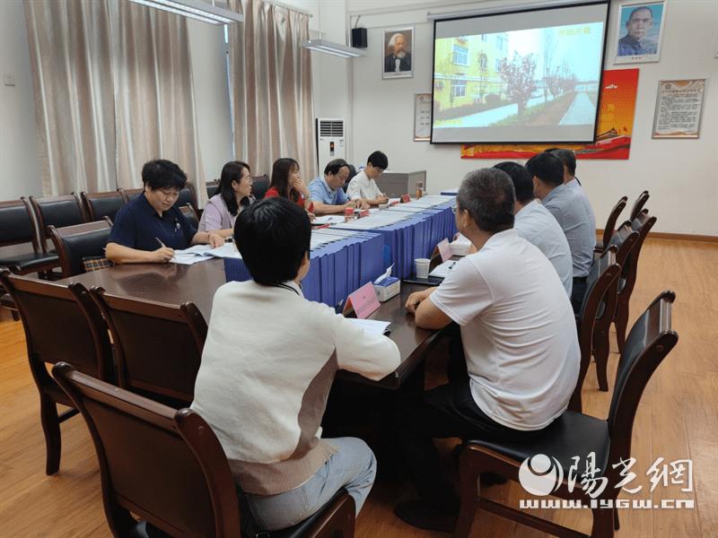 灞桥中心校三所学校迎接西安市新优质学校评估