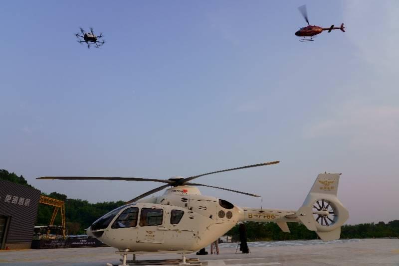 直升机+自动驾驶飞行器!东部通航开创性合作探索交通新模式