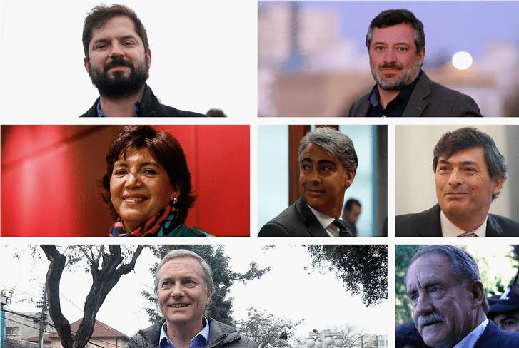 智利举行2021年总统选举首场候选人公开辩论
