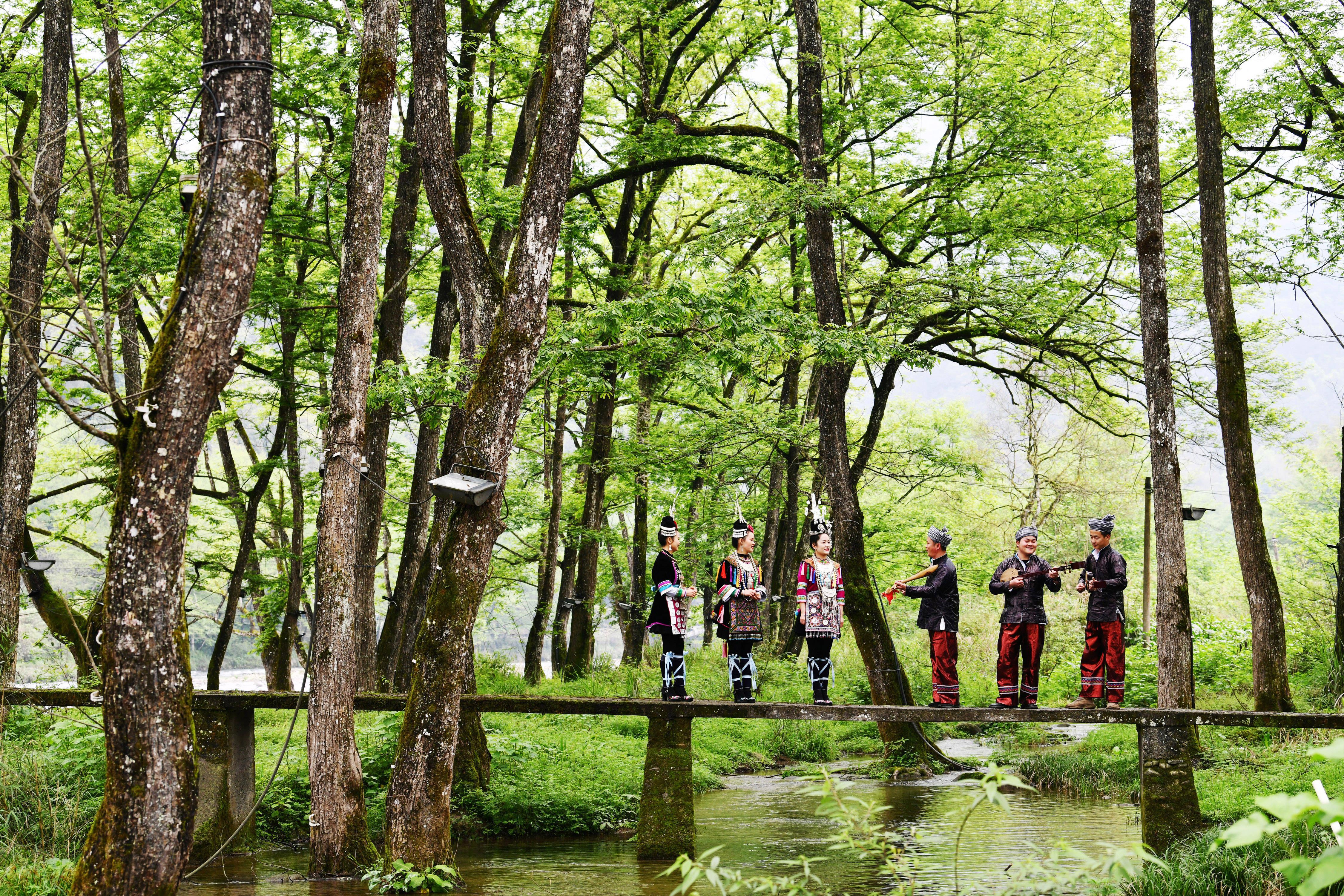 """保护为前提 """"美好""""共分享——来自贵州世界自然遗产地的旅游发展调查"""