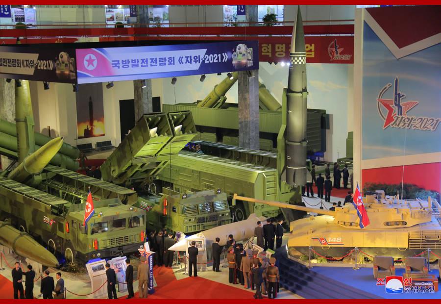 恒宏首页朝鲜举行国防发展展览会,高超音速导弹首次近距离公开 (图2)