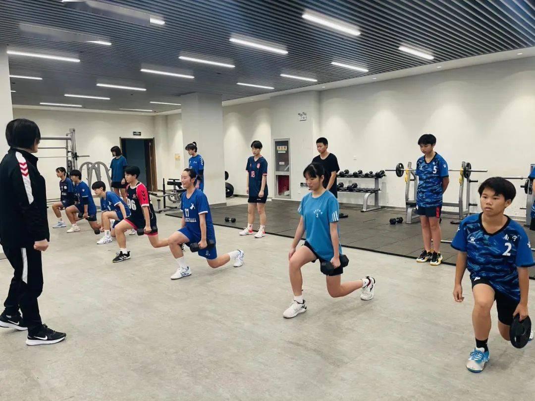 着眼奥运 狠抓青训:2021年全国青少年女子手球精英训练营于安徽滁州拉开序幕