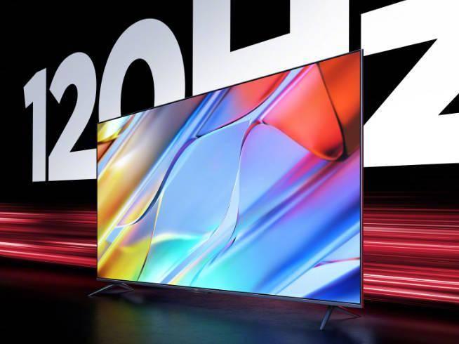 120Hz+满血接口!Redmi智能电视X 2022款又跟荣耀碰上了?