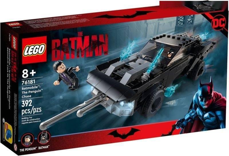 模玩资讯:LEGO 罗伯·派汀森版《蝙蝠侠》电影 四款乐高