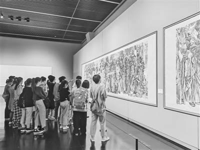郑州美术馆新馆一岁了